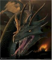 DRAGONS ANNIHILATOR ~ 23x27 FANTASY ART POSTER ~ NEW/ROLLED!