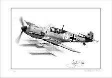 MESSERSCHMITT BF-109 G10  ME 109 GERMAN FIGHTER PLANE  WORLD WAR II