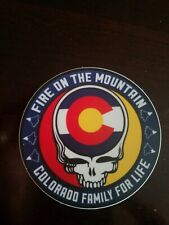 Grateful Dead Colorado Fire On The Mountain Steal Your Face - 3in