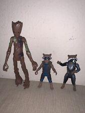 Marvel Legends Guardians of the Galaxy GROOT BAF 2 Rocket Racoon figure LOT