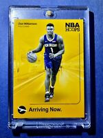 Zion Williamson PANINI NBA HOOPS HOT ROOKIE 2019-20 ARRIVING NOW RC #2 - Mint!