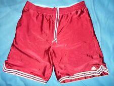 Adidas Mens XL Burgundy Athletic Shorts