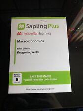 Sapling Plus Macroeconomincs 6 Month Code
