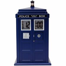 Reloj Proyector Tardis - Doctor Who - Clock - Producto Oficial