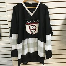 Vintage White Zombie Hockey Jersey Sz One Size Fits All 1990s