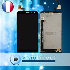 """Ecran complet pour Asus Zenfone 2 Laser ZE601KL Z011D 6"""" noir vitre tactile+ LCD"""
