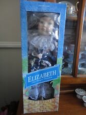 "Boxed The Promenade Collection ""Elizabeth"" Fine Bisque Porcelain Doll-new"
