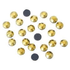 Hot Fix Diamante Rhinestone Gems Iron Glue On Crafts Decorations