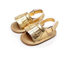Baby Girl Boy Tassel Sandals Roman Sandles Kid Toddler Infant Summer Mocc Shoes