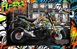 HONDA GROM 2013-2020 GRAPHICS WRAP 'HUSTLER' DECAL KIT SKIN WRAP PARTS MSX125