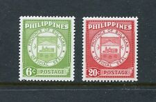 Philippines 652-653 b,MNH.Michel 628,632. Seal of Bulacan Province.1959.