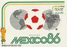 1986 St.Vincent card Football World Cup Mexico