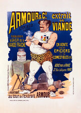 Extrait de viande Armour by Albert Guillaume 90cm x 64cm Art Paper Print