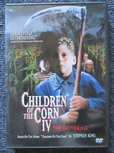 DVD CHILDREN OF THE CORN IV THE GATHERING STEPHEN KING  *** MUST SEE ***
