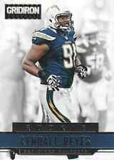 2012 Gridiron #252 Kendall Reyes RC Rookie Chargers