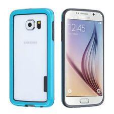 Étuis, housses et coques Bumper bleu en silicone, caoutchouc, gel pour téléphone mobile et assistant personnel (PDA)