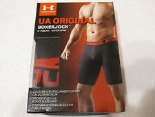 UNDER ARMOUR UA ORIGINAL Boxer Jock Brief sz S NEW in Package  BLACK
