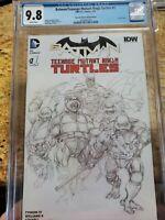 Batman/Teenage Mutant Ninja Turtles #1 Neal Adams Variant CGC 9.8 Dynamic Forces