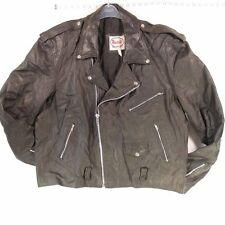 Unbranded Men's Biker Hip Length Coats & Jackets