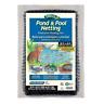 "POND NET/NETTING-Fish-Bird-Water Garden-Pool-Leaf-Koi Fish-Yard-Cover-3/8"" 28x45"