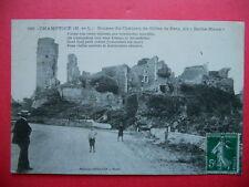 CHAMPTOCÉ  :  Ruines du Château de Gilles de Retz.......VO.1912.
