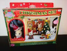 SYLVANIAN CHRISTMAS SET IN ORIGINAL BOX