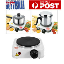Single Electric Hot Plate Cooker Hotplate Cooktop Stove Coffee Pot Heat Stove AU