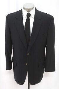 mens navy blue SAMUELSOHN loro piana blazer jacket sport suit coat 42 R S