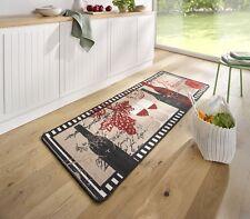 Hanse Home Teppichläufer Polyamid schwarz beige rot