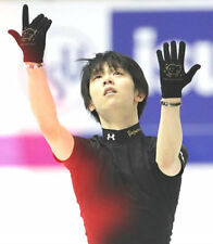 Yuzuru Hanyu Irene Shop Limited Glove(Black x Gold) Free Size RARE from Japan