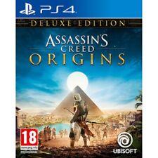 Assassins Creed Origins Deluxe Edition (ps4) UK PAL EU