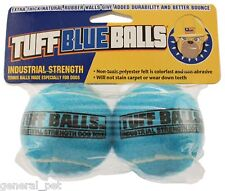 Petsport Tuff Blue Balls Dog Toy 2pk