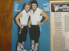1983  Ring's Wrestling (RICK  MORTON/ROBERT GIBSON/RANDY  SAVAGE/BOB  ORTON, JR.