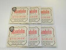 J74 D'Addario Mandolin Strings (6) sets  Medium New ~FREE SHIPPING TO U.S.~