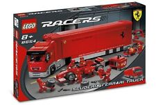 Lego Racers 8654 Scuderia Ferrari Truck -  New SEALED