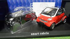 Smart City Coupé Gris ou Rouge au 1/18 Kyosho Voiture Miniature