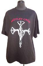 Mens 2008 2X Motley Crue Crue On Tour Concert Tour T-Shirt - Nos