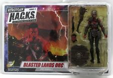 """Vitruvian H.A.C.K.S. 200302 Blasted Lands Orc Ravager Female 4"""" Action Figure"""