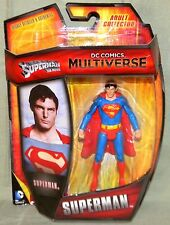 """DC Multiverse SUPERMAN From SUPERMAN MOVIE CHRISTOPHER REEVES 4"""" Action Figure"""