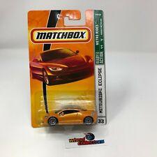 #1431  Mitsubishi Eclipse #33 * Orange * Matchbox * JD23