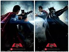 BATMAN V SUPERMAN DAWN OF JUSTICE Set Original Promo Movie Poster AMC Exclusive