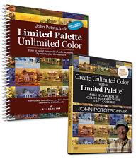 JOHN POTOTSCHNIK PAINT UNLIMITED COLOR WITH A LIMITED PALETTE-Art DVD/BOOK Combo