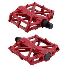 Componentes y piezas rojas de aleación para bicicletas