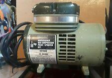 Sears Homeowner Air Compressor Paint Sprayer 1/10 Horse Power Model: 283 15060