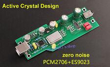 PCM2706 + ES9023 Fever-Level Audio DAC Sound Card Decoder Board Expansion Card