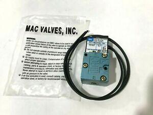 MAC VALVES INC 45A-AA1-DDBA-1BA Solenoid Valve 4WAY 12VDC 5.4W 120PSI