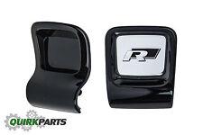 OEM NEW VW Volkswagen Black R-Line Beetle Sport Steering Wheel Clip Emblem Trim