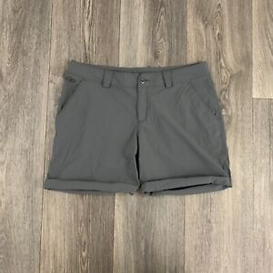 Outdoor Research Women's Gray Nylon Outdoor Hiking Shorts Size 8