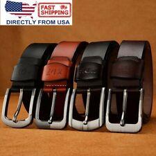 Men's belts, Full Grain Genuine Leather Casual Dress Jeans Belts for Men