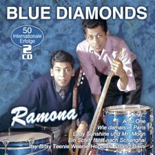 BLUE DIAMONDS - RAMONA-50 INTERNATIONALE ERFOLGE  2 CD NEU